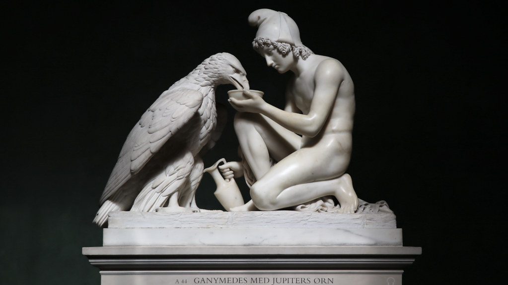 Ganymede with the Eagle of Jupiter, 1817 Giclee Print