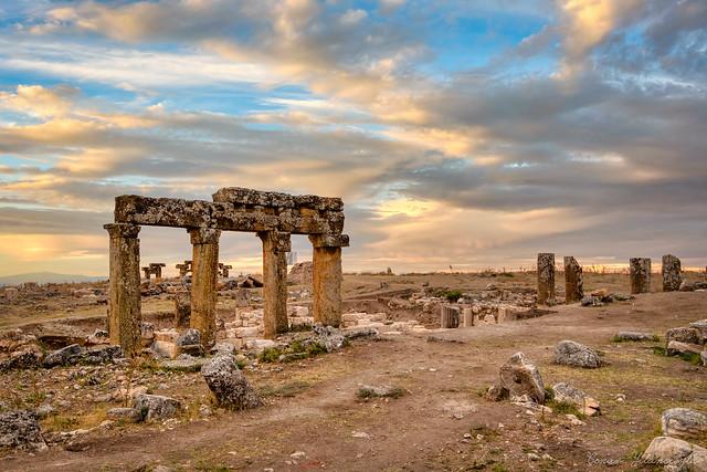 Blaundos an ancient Roman episcopal city near Sülümenli, Ulubey, Uşak, Turkey.