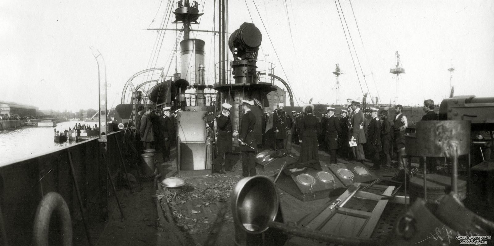 1904. Бронепалубный крейсер II-го ранга «Жемчуг»