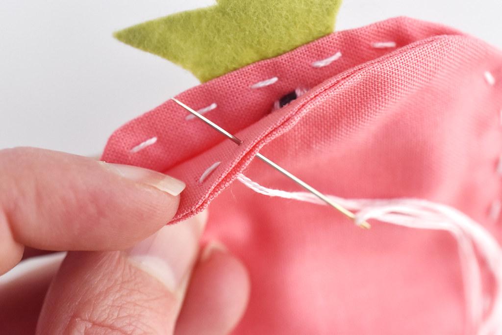 Strawberry Scissor Case Sewing Tutorial
