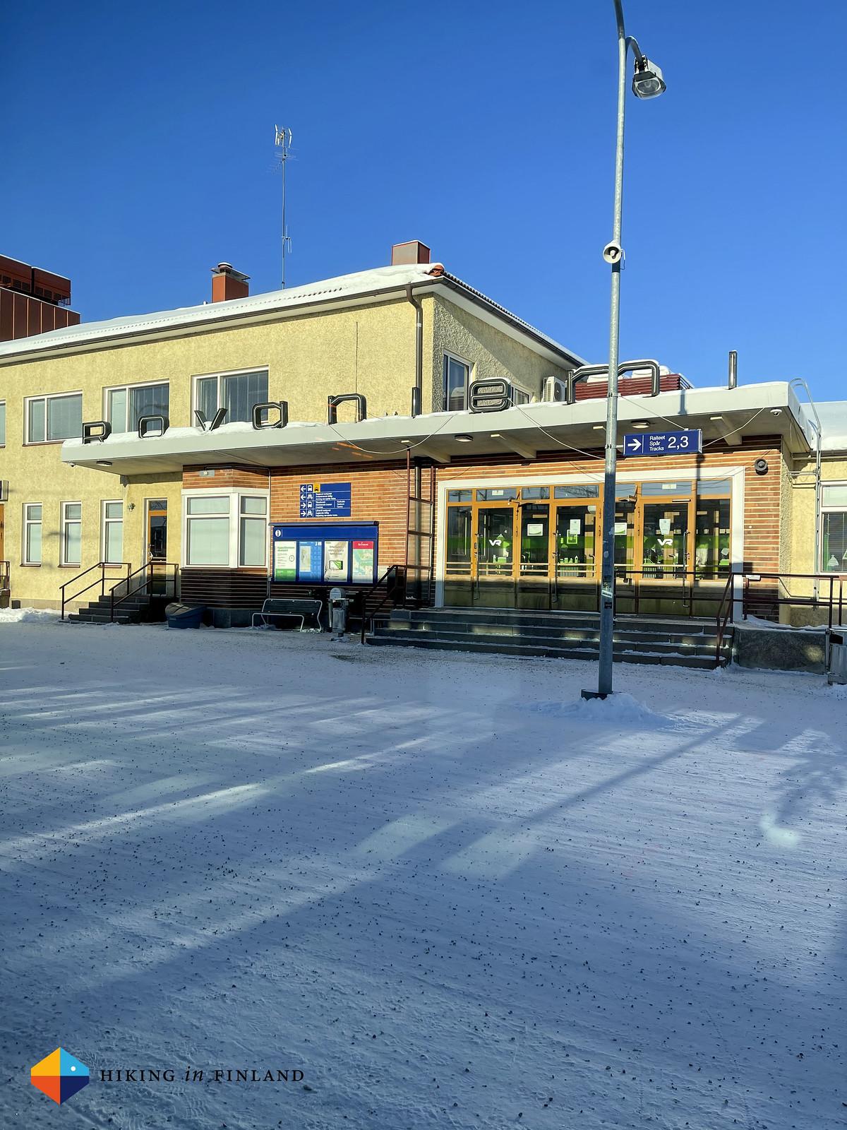 Rovaniemi Railway Station
