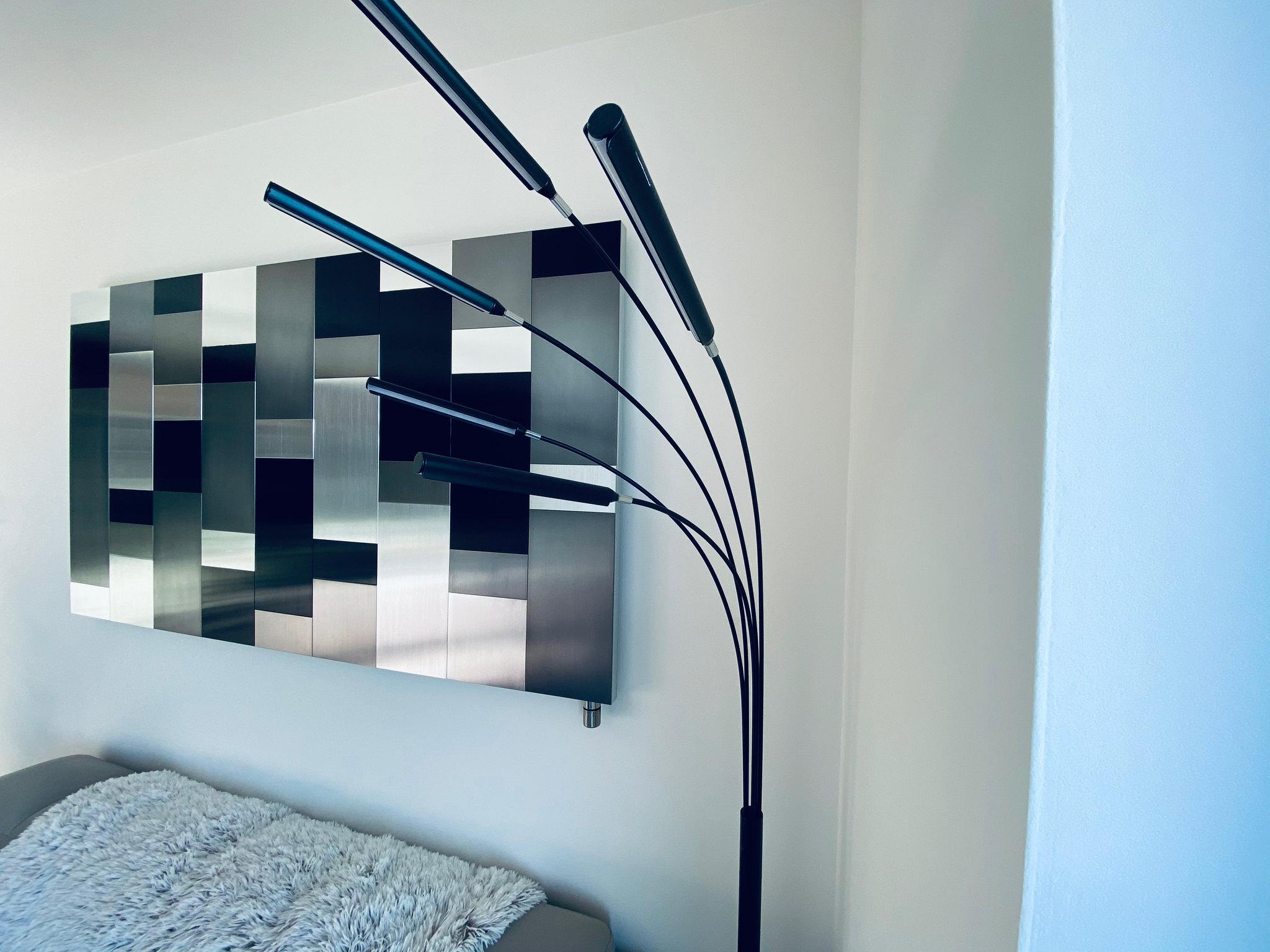 Designový radiátor Cortinix Horizontal black