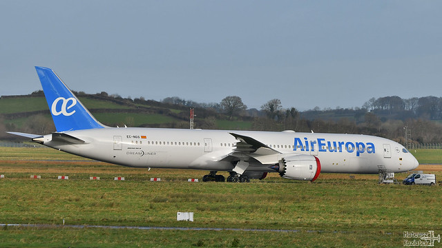 Air Europa 🇪🇸 Boeing 787-9 Dreamliner EC-NGS