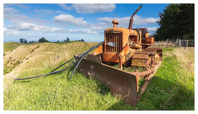 Track Marshall Bulldozer