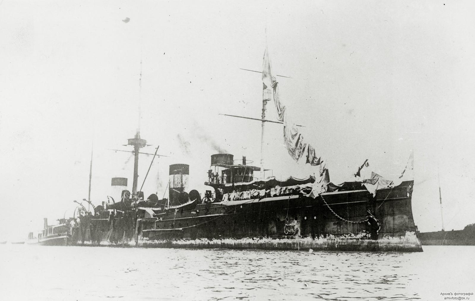 Бронепалубный крейсер II-го ранга «Жемчуг»