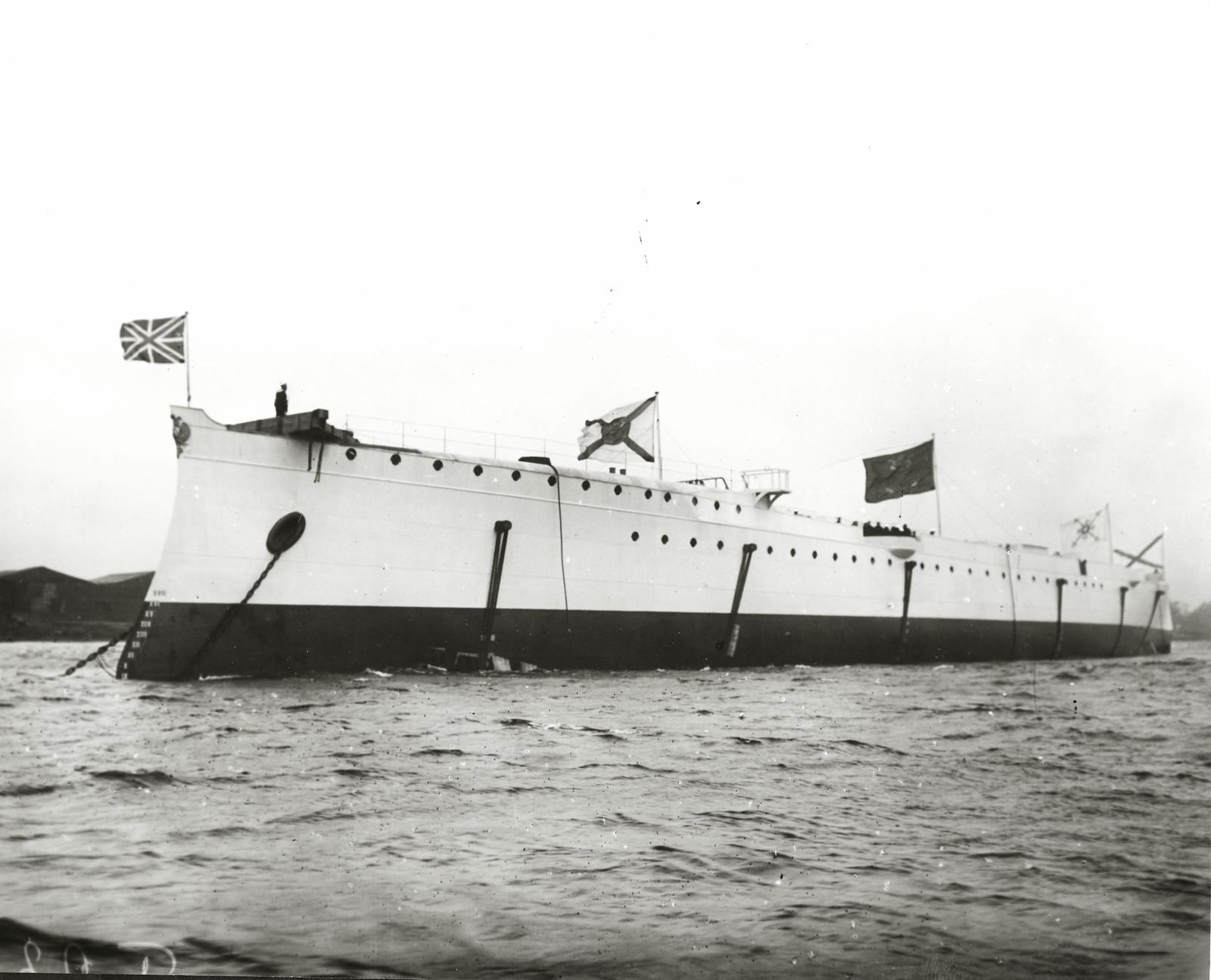 1903. Спущенный на воду бронепалубный крейсер II-го ранга «Жемчуг»