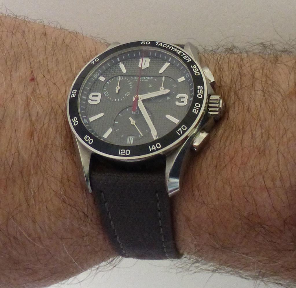 victorinox chrono sailcloth wrist