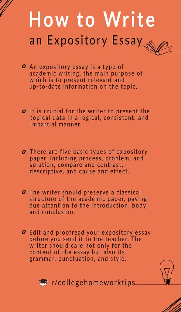 tips on how to write an expository essay