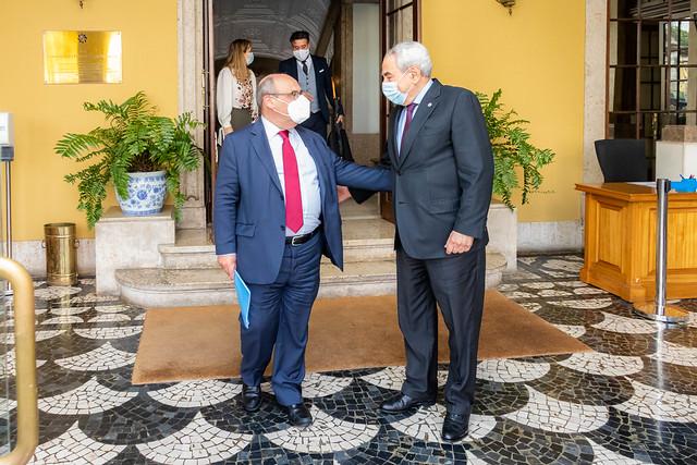 21.05. Secretário Executivo recebe Diretor-Geral da Organização Internacional para as Migrações