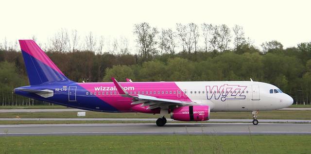 Wizzair, HA-LYD,MSN 6115,Airbus A320-232, 09.05.2021,HAM-EDDH, Hamburg