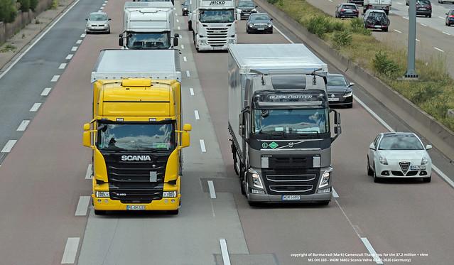 MS OH 333 - WGM 56802 Scania Volvo 07-07-2020 (Germany)