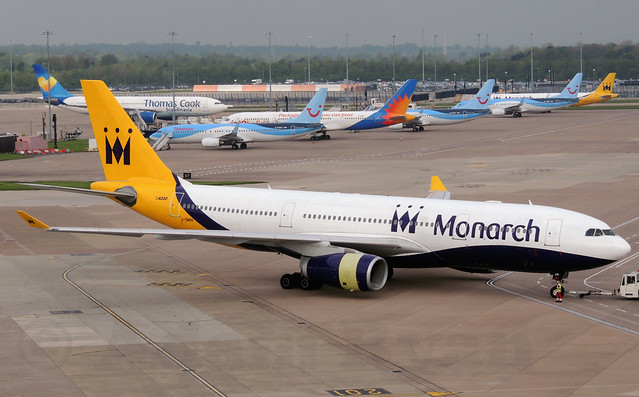 G-SMAN - Monarch Airlines A330-200