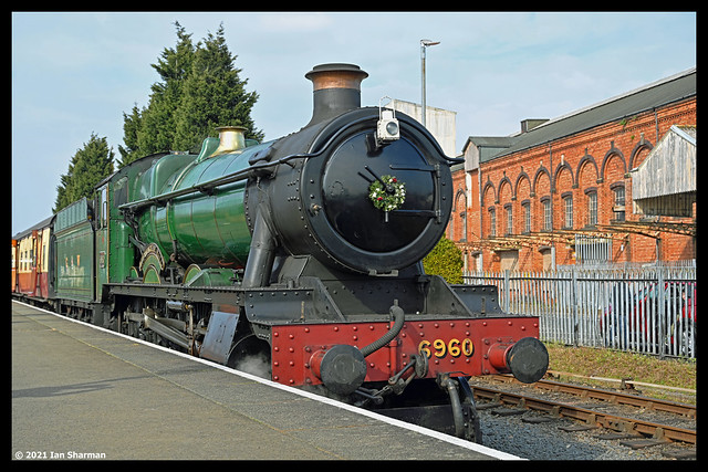 No 6960 Raveningham Hall 18th April 2021 Severn Valley Railway Spring Steam Up