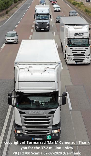 PB JT 2700 Scania 07-07-2020 (Germany)