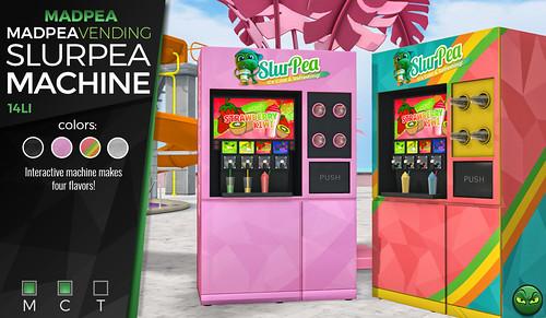MadPea Vending Slurpea Machine Giveaway!