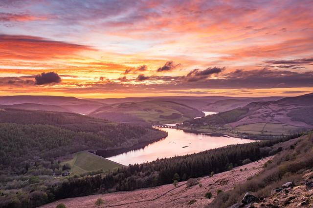 Ladybower Sunset