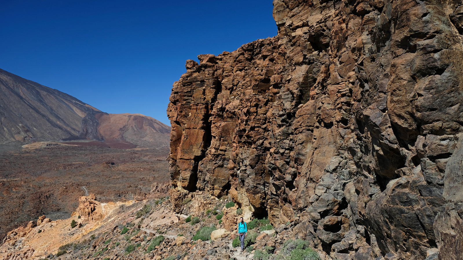 Montaña Guajara Circuit, Teide National Park, Tenerife, Spain
