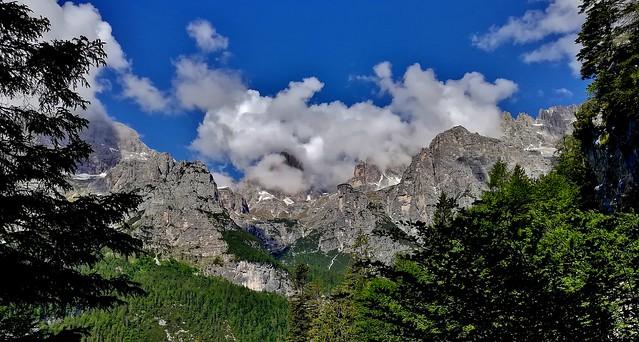 ITALIEN, Italy, Vom Pradel  Richtung Brenta-Gebirge(Dolomiten), 79060/13671