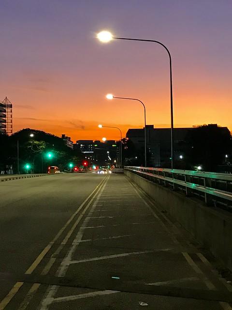 twilight at dawn