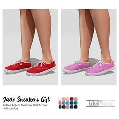[WellMade] Jade Sneakers GIFT
