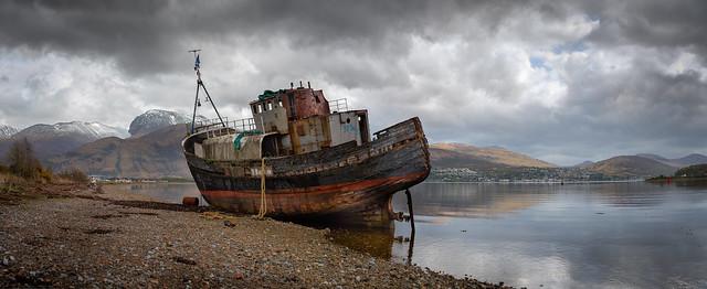 Graffiti on the trawler....?