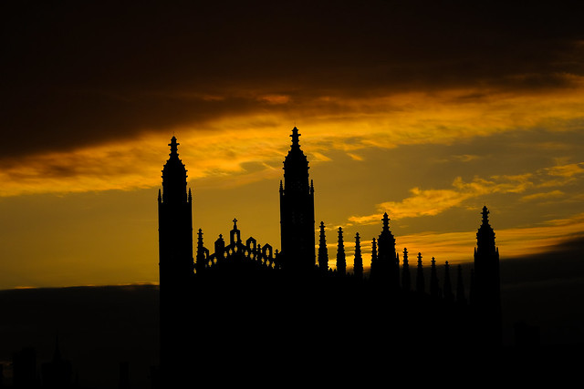 Sunrise in Cambridge 11 May 2021