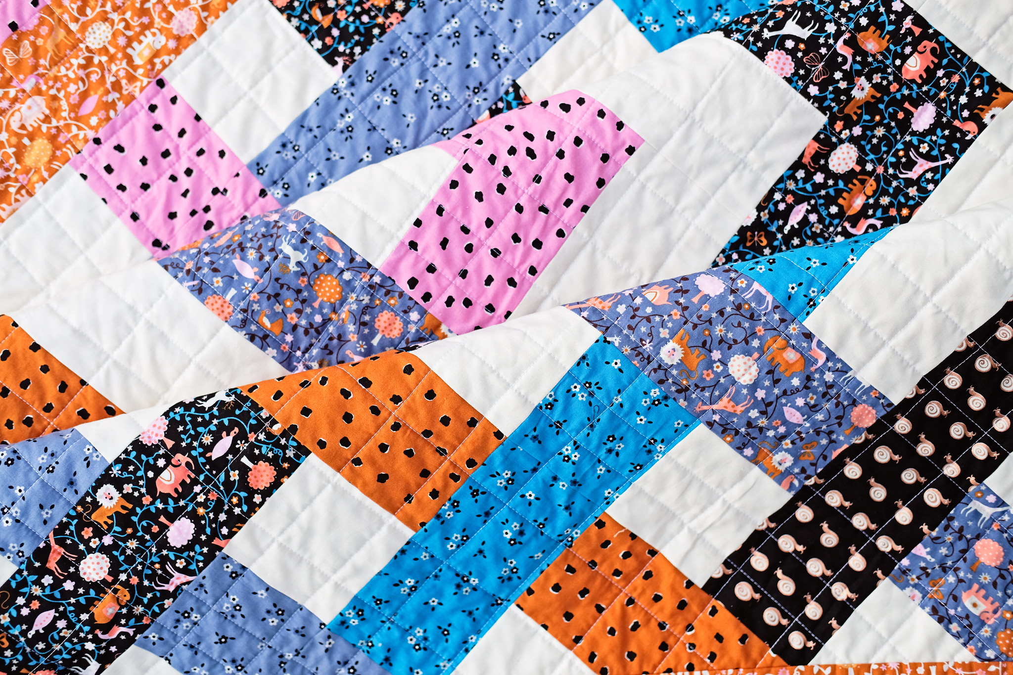 A Baby Eliza Quilt - Kitchen Table Quilting0-Edit