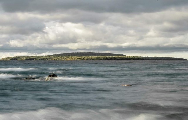 """Kitchikewanas' Rest, aka """"Giants Tomb Island"""", Georgian Bay"""