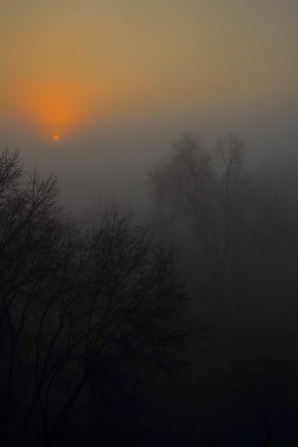 L'alba arancio