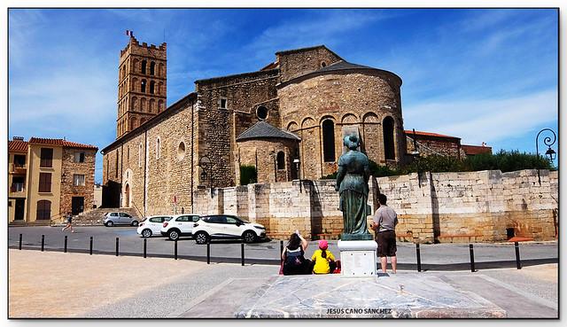 Catedral de Santa Eulàlia i Santa Júlia, Elna (el Rosselló, França)