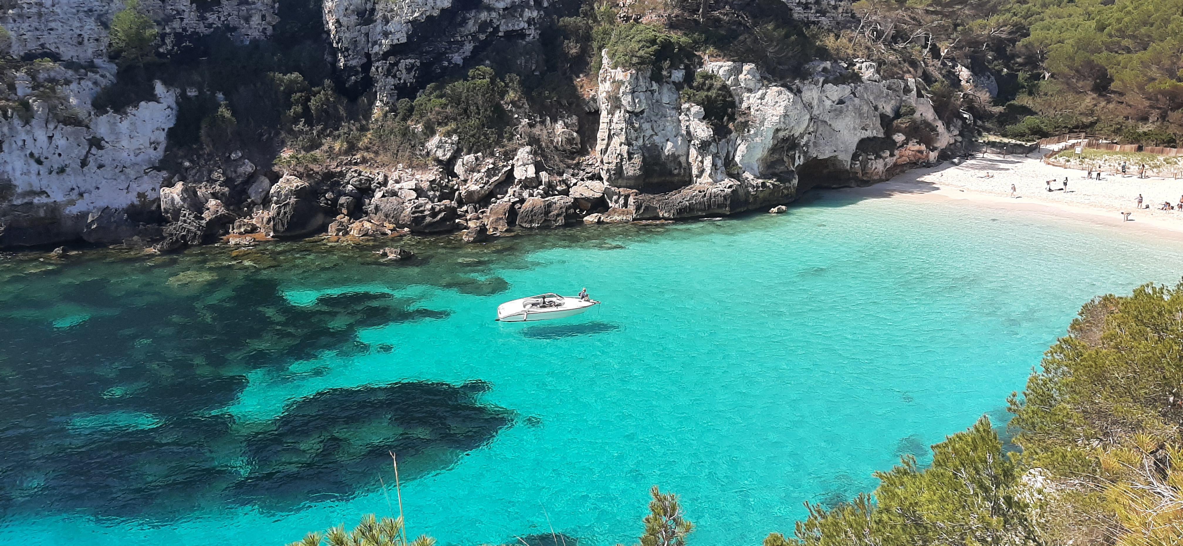 Cala Macarelleta, Menorca, 5 mayo 2021
