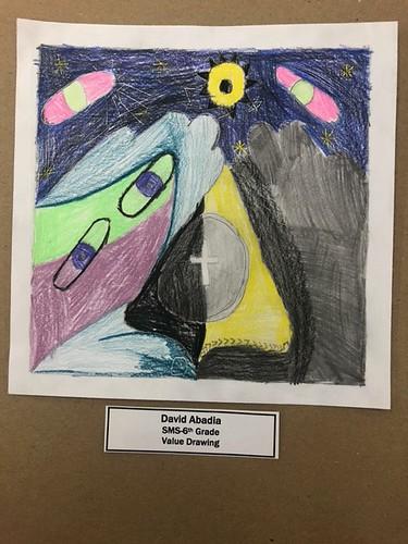 Seymour Woman's Club virtual art contest in 2021