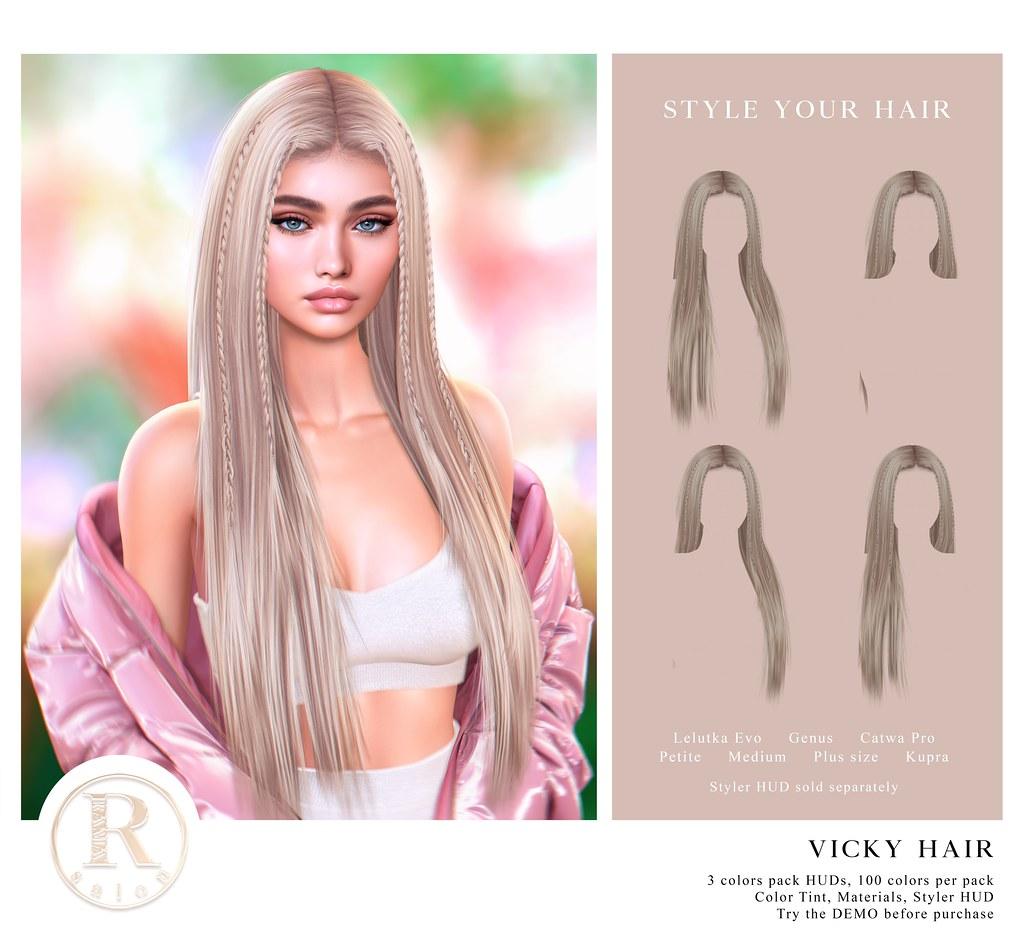 RAMA.SALON – Vicky Hair @Equal10