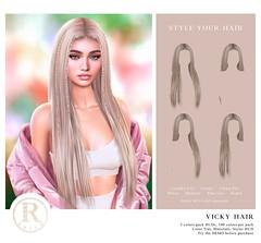 RAMA.SALON - Vicky Hair @Equal10
