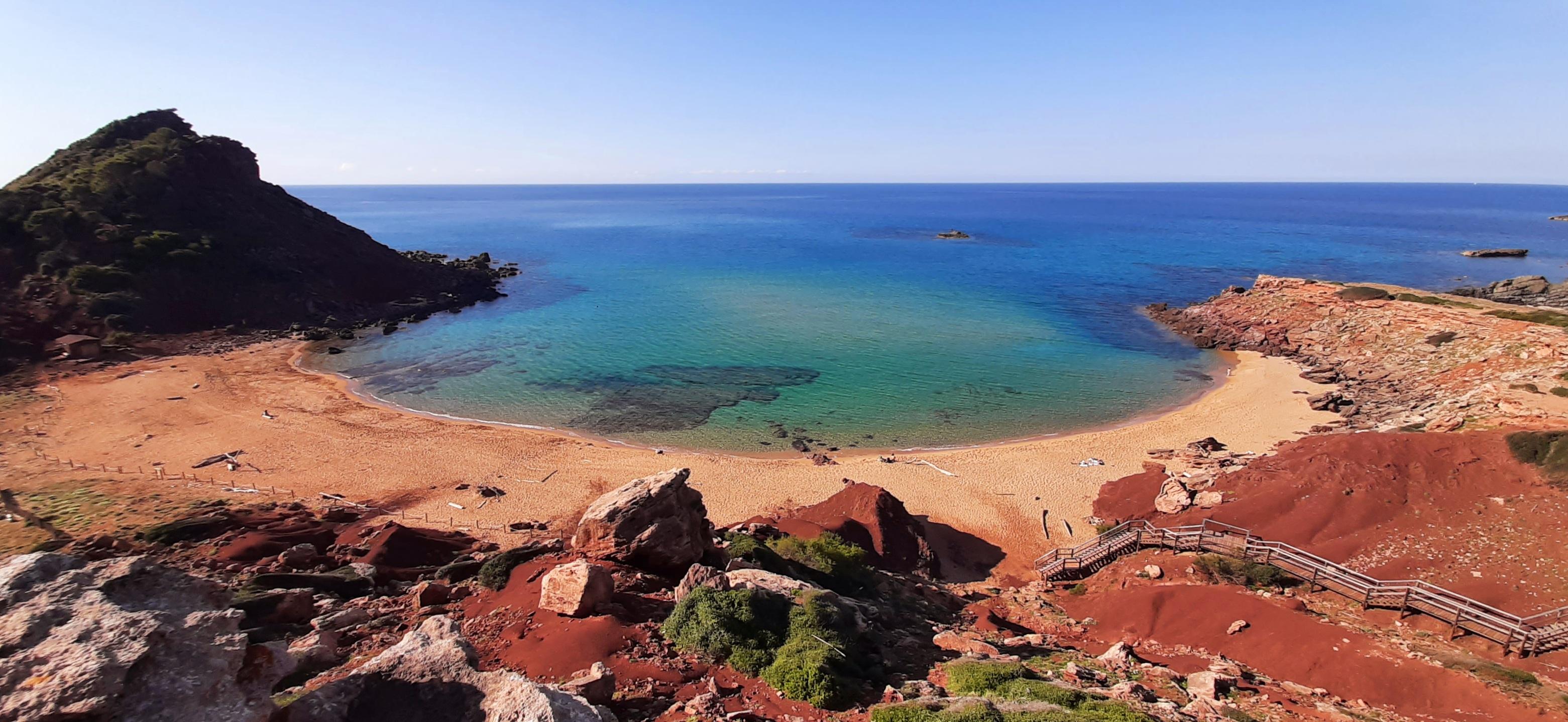 Cala El Pilar, Menorca, 5 mayo 2021
