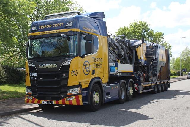 Scania R580 - Tripod Crest