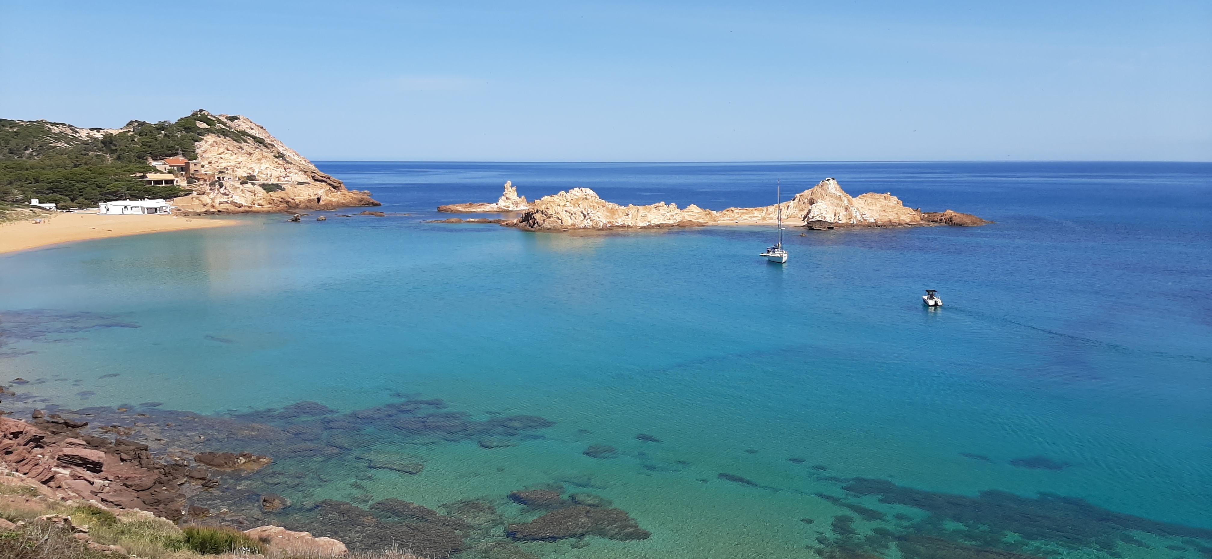 Cala Pregonda, Menorca, 6 mayo 2021