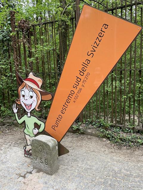 Wanderung zum südlichsten Punkt der Schweiz