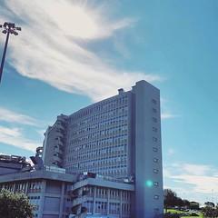 :sunrise_over_mountains: #Buongiorno Sapienza con una foto dell'Ospedale universitario Sant'Andrea di @_cuore_ribelle_ ・・・  Goodmorning from the Sant'Andrea University Hospital ・・・ #Repost: «Ci siamo....ansia a go go... #controllo #allabuonora #quasi3mesi