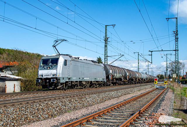 186 262-2 mit Kesselzug durch Eisenach am 14.04.2021