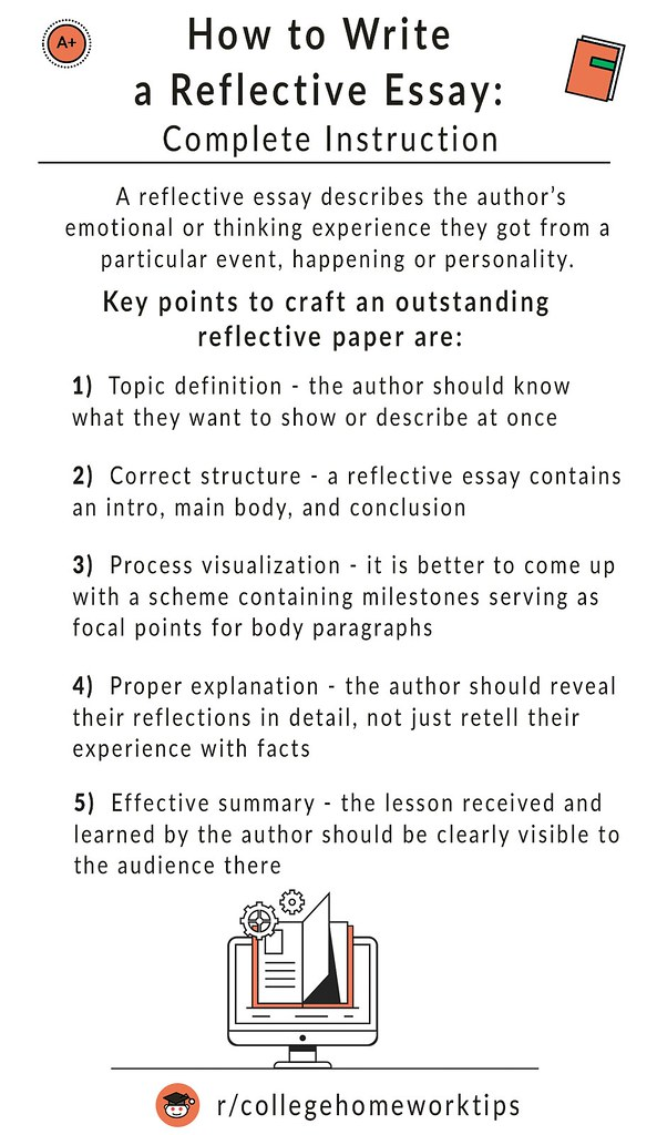 tips on how to write a reflective essay