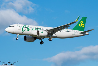 F-WWTM / B-324F Airbus A320-251N Spring Airlines s/n 10250 - First flight * Toulouse Blagnac 2021 *