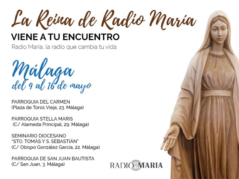 La Virgen María de Radio María visita nuestra parroquia