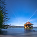 Bathhouse on the lake of zurich 2