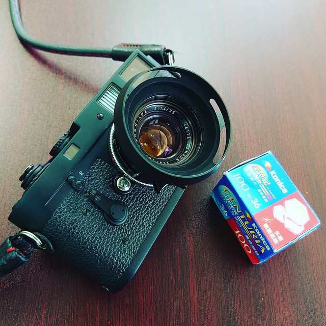 Leica 35mm f1.4 Pre A的過期菲林味