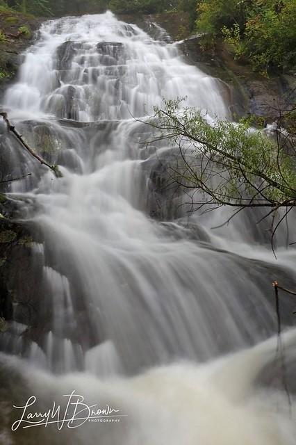 Jordan River Falls (upper)
