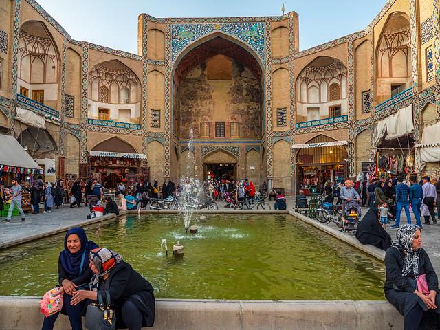 Qeysarie Gate, Isfahan Bazaar, Isfahan, Iran