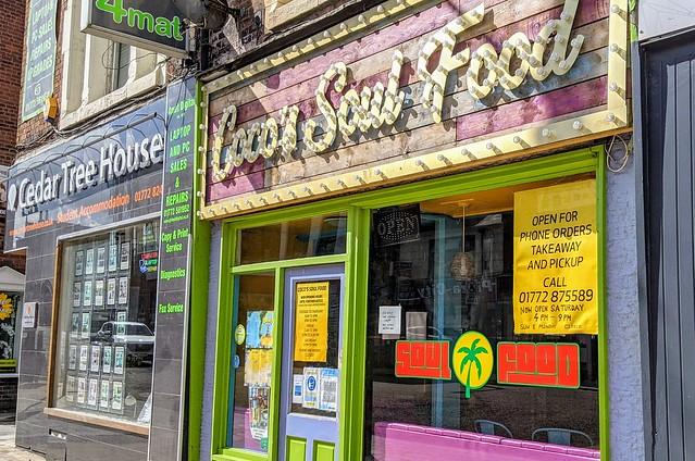 Coco's Soul Food in Preston