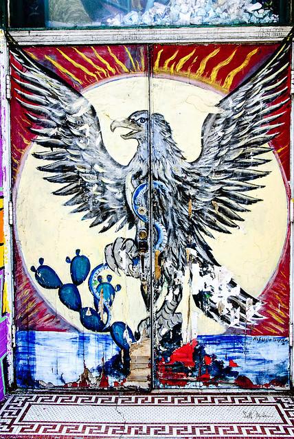 Eagle Doorway - Casa Aztlan