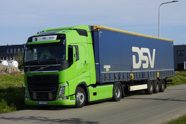 Volvo FH 460 BKI - OOD Transport met kenteken E 0695 HA in Bemmel 09-05-2021